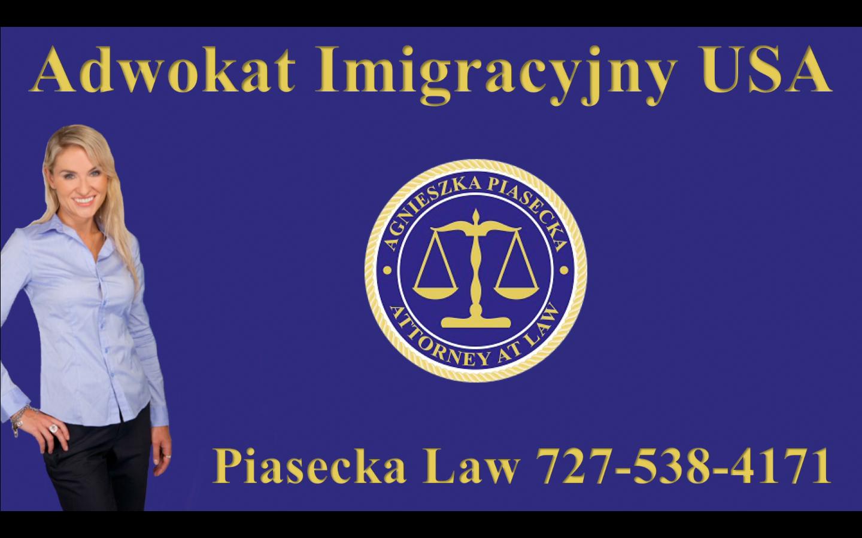 Adwokat Imigracyjny USA Piasecka Law 727-538-4171 Logo