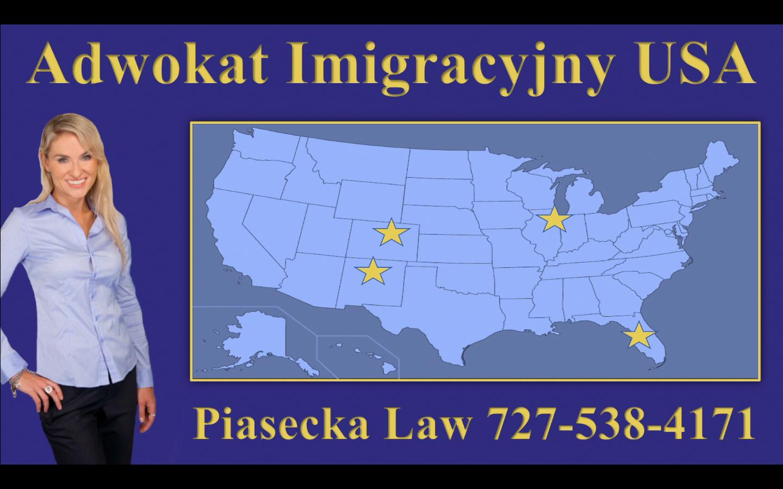 Adwokat Imigracyjny USA Piasecka Law 727-538-4171 Map