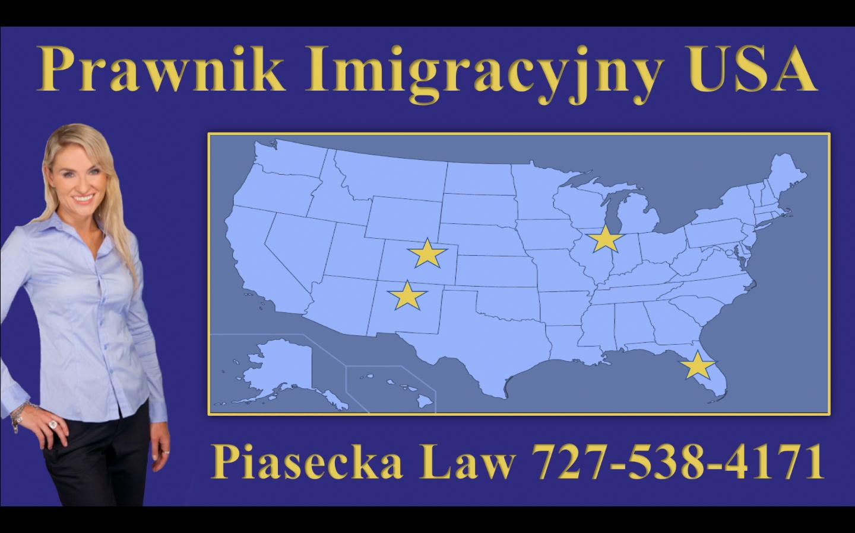 Prawnik Imigracyjny USA Piasecka Law 727-538-4171 Map