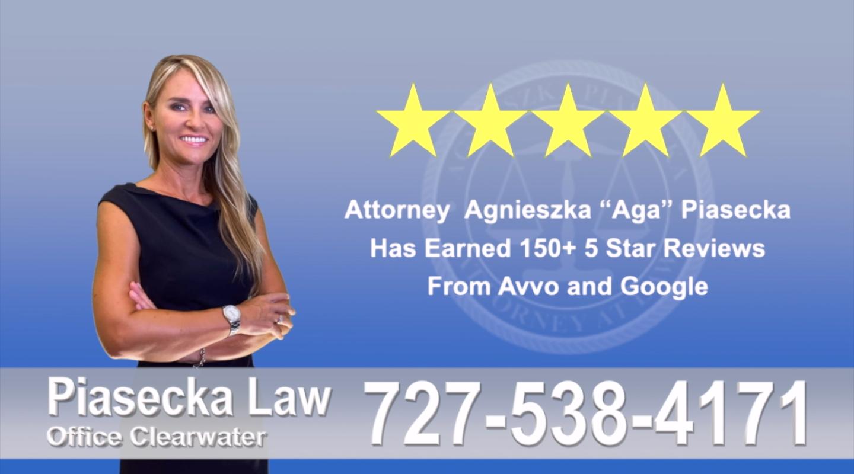 Polish Immigration Attorney Agnieszka, Aga, Piasecka, Client, reviews, avvo, google, five star, 5-star